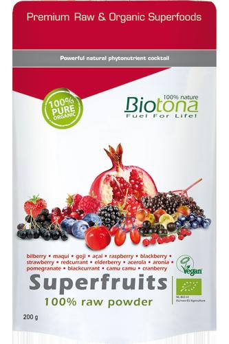 Biotona Superfruits 100% Raw Powder – 200g