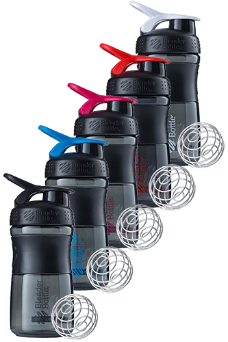 BlenderBottle 590ml Sportmixer black