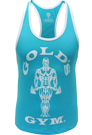 Gold´s Gym Stringer Tank Ladies Muscle Joe Turquoise