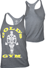 Gold´s Gym Stringer Tank Muscle Joe Premium Grey