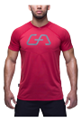 Gym Aesthetics T-Shirt Herren Regular Fit - rot