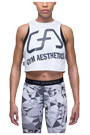 Gym Aesthetics Top Crop Damen Performance
