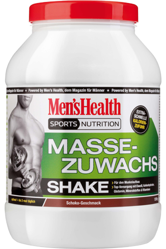 Men´s Health Massezuwachs Shake 1200g