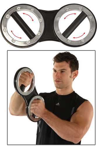 Men´s Health POWERTOOLS Speed-Wheel Boxerhantel