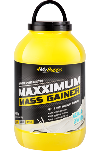 My Supps Maxximum Mass Gainer - 4500g Restposten