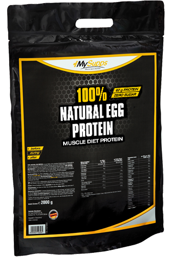 My Supps 100% Natural Egg Protein - 2kg