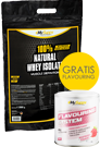 100% Natural Whey Isolat 2kg + Flavouring
