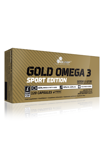 Olimp Gold Omega 3 Sport Edition - 120 Caps