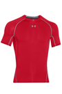 Under Armour HeatGear® Kompressions-Shirt - red