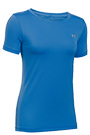 Under Armour T-Shirt Frauen HG SS - blue