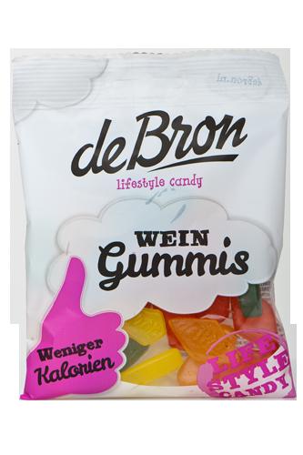 de Bron Low Sugar Wein Gummis - 100g
