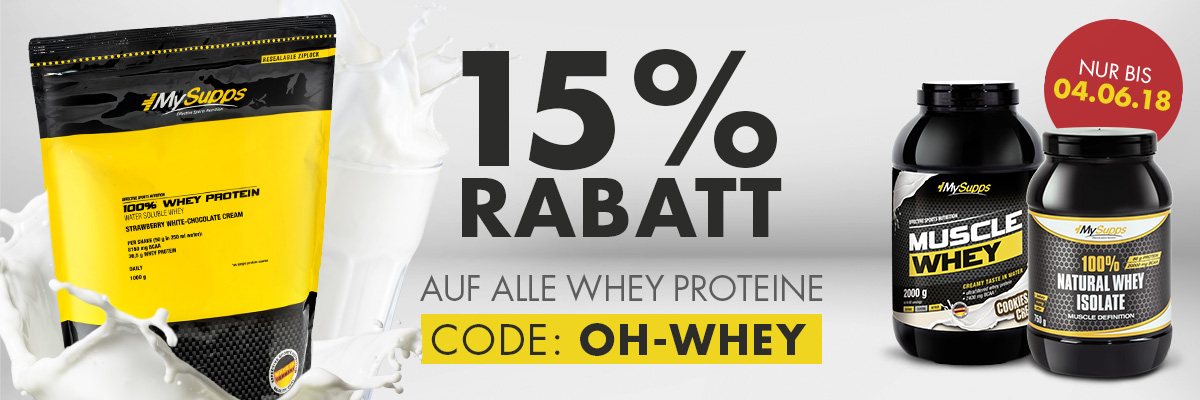 MS Start Whey Rabatt MAI18