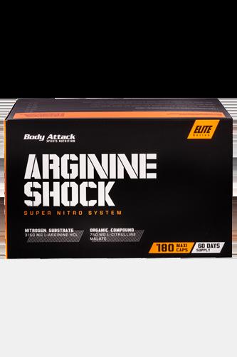 Body Attack Arginine Shock - 180 Caps - Abbildung vergrößern!