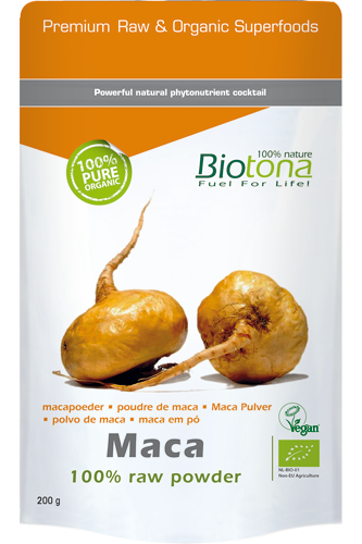 Biotona Maca 100% Raw Powder – 200g
