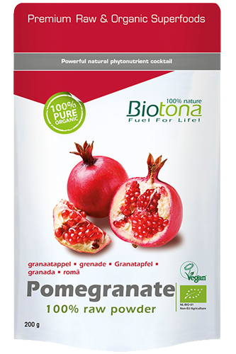 Biotona Pomegranate Raw Powder - 200g