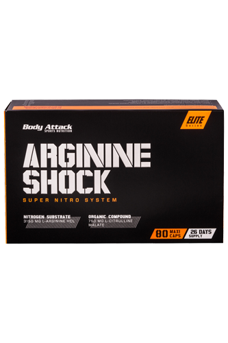 Body Attack Arginine Shock - 80 Caps - Abbildung vergr��ern!