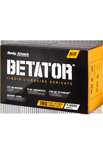 Body Attack BETATOR® - 180 Caps - Abbildung vergrößern!