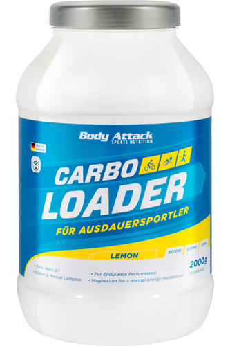 Body Attack Carbo Loader - 2kg - Abbildung vergrößern!