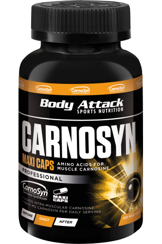 Body Attack Carnosyn - 120 Caps - Abbildung vergr��ern!