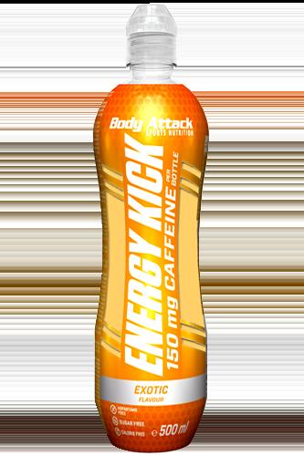 Body Attack Energy Kick - 500 ml - Abbildung vergrößern!