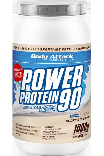Body Attack Power Protein 90 - 1kg - Abbildung vergrößern!
