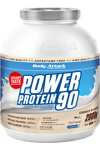 Body Attack Power Protein 90 - 2kg - Abbildung vergr��ern!