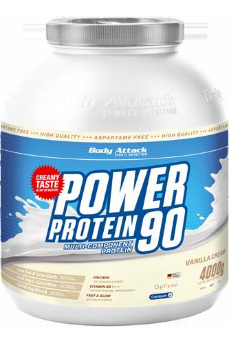 Body Attack Power Protein 90 - 4kg - Abbildung vergrößern!