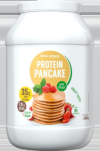 Body Attack Protein Pancake Stevia - 2kg - Abbildung vergrößern!