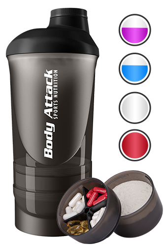 Body Attack Sports Nutrition Shaker ShakeOne - 600ml - Abbildung vergrößern!