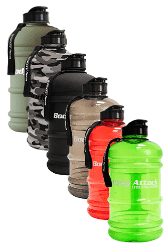 Body Attack Sports Nutrition Water Bottle XXL - 2,2 Liter - Abbildung vergrößern!