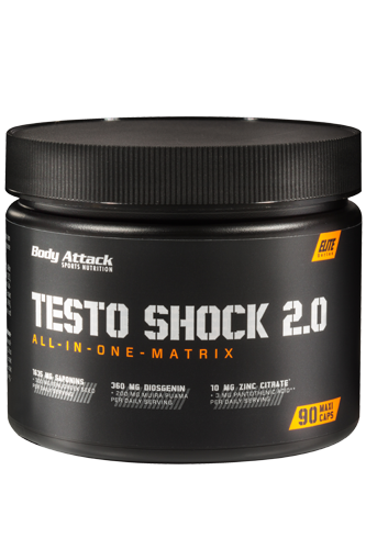 Body Attack Testo Shock 2.0 - 90 Maxi Caps - Abbildung vergr��ern!