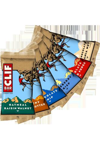 Clif Bar Variety Pack - 6er Pack - Abbildung vergrößern!