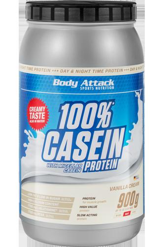Body Attack 100% Casein Protein - 900g - Abbildung vergrößern!