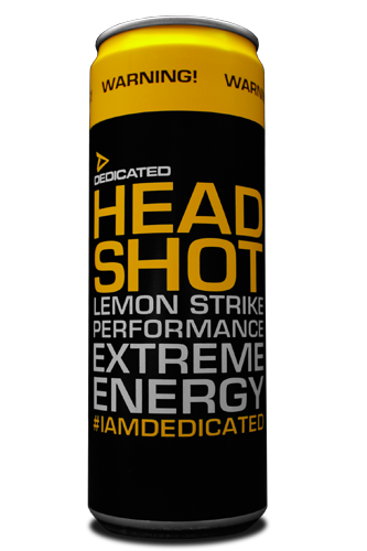 Dedicated Nutrition Headshot Energy Drink - 355 ml