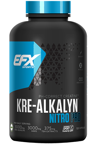 EFX Kre-Alkalyn Nitro Pro - 120 Super Caps - Abbildung vergr��ern!