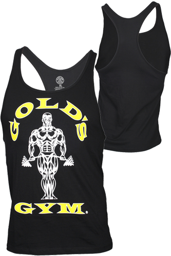 Gold´s Gym Stringer Tank Muscle Joe Premium Black - Abbildung vergrößern!