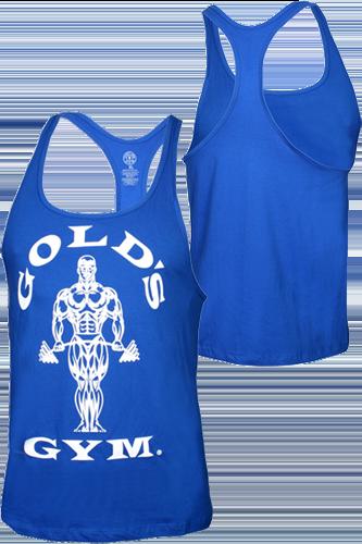 Gold´s Gym Stringer Tank Muscle Joe Premium Royal - Abbildung vergrößern!