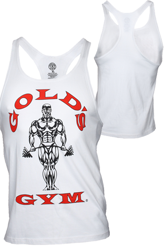 Gold´s Gym Stringer Tank Muscle Joe Premium White