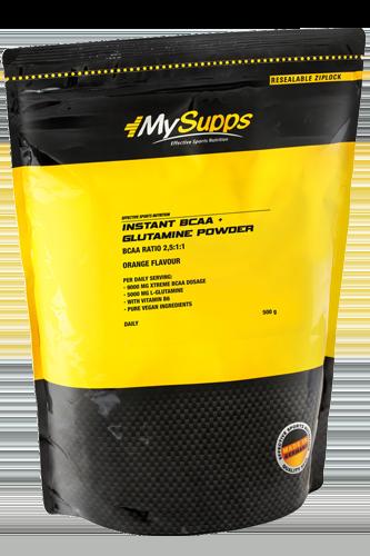 My Supps Instant BCAA + Glutamine Powder - 500g - Abbildung vergrößern!