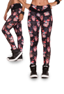 LaBellaMafia Legging RIPPED FLAMINGO