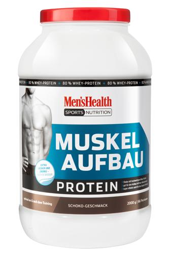 Men´s Health Muskelaufbau Protein - 2000g - Abbildung vergrößern!
