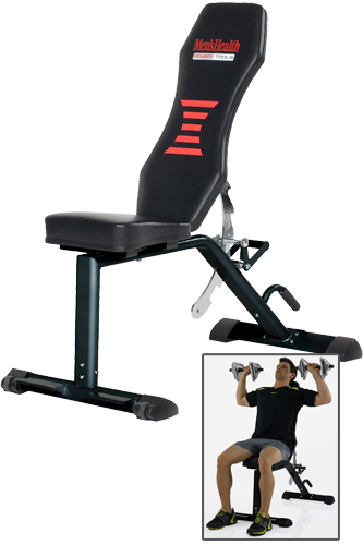 Men´s Health POWERTOOLS SPARKS EXERCISE BENCH