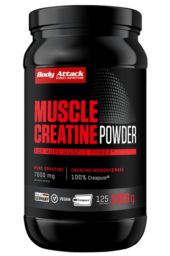 Body Attack Muscle Creatine 1kg (Creapure<sup>�</sup>) - Abbildung vergr��ern!