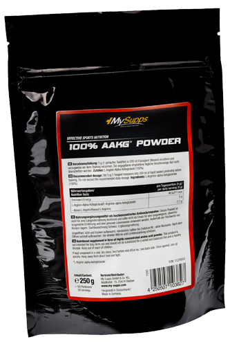 My Supps 100% AAKG Powder - 250g