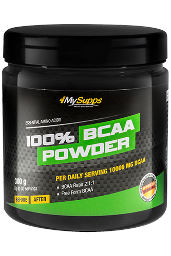 My Supps 100% BCAA Powder - 300g