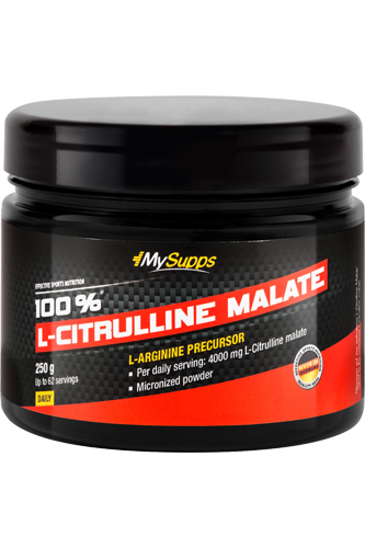My Supps 100% L-Citrulline Malate - 250g