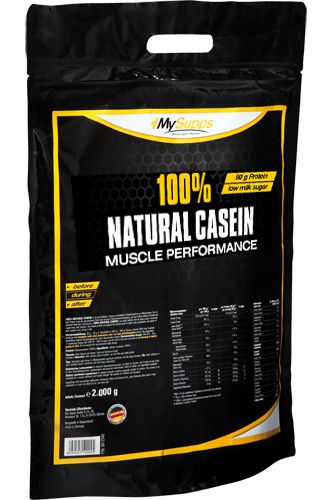 My Supps 100% Natural Casein - 2kg