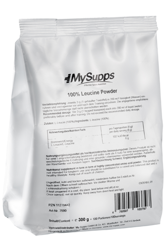My Supps 100% Leucine Powder - 300g