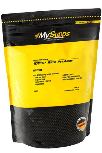 My Supps 100% Rice Protein - 1000g