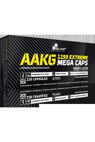Olimp AAKG 1250 Extreme - 120 Mega Caps - Abbildung vergrößern!